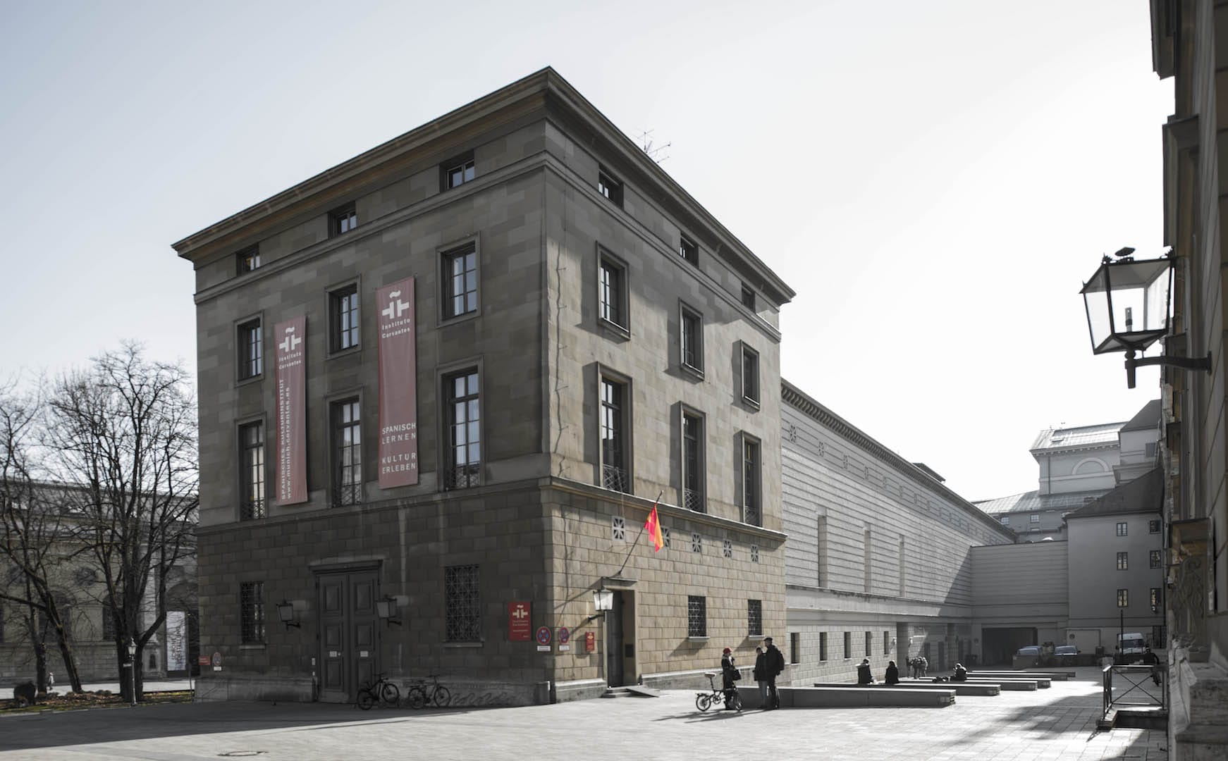 instituto cervantes ,munich. alemania