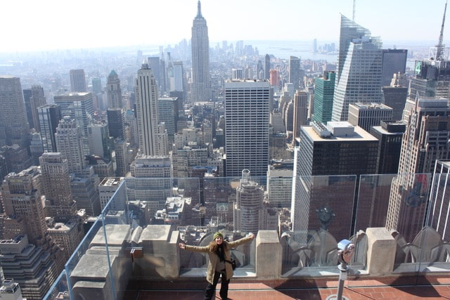 Impresionantes vistas desde el Top of the Rock