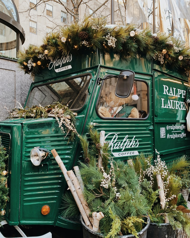Food Truck en Mercadillo navideño